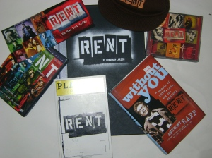 Some of the author's RENT gak