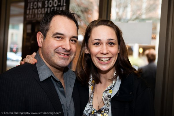 Director Craig March and I at the Cast and Crew screening of the Beast. Photo credit: Kenton Photography