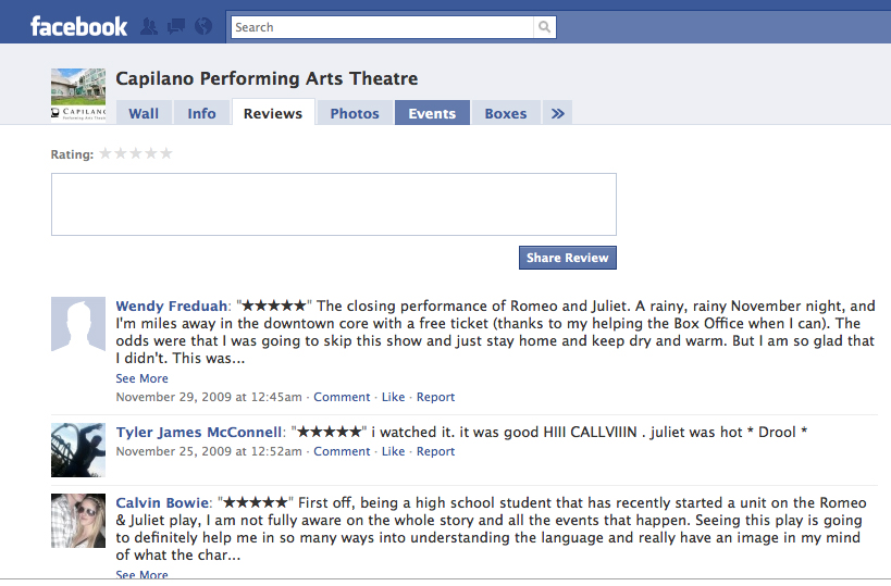 How to write a theatre review